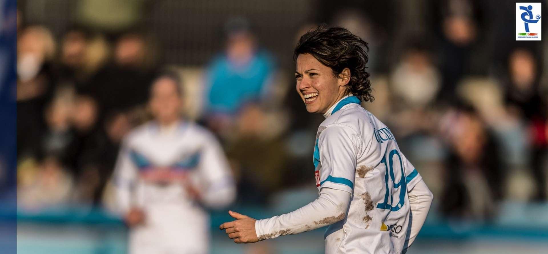 Valentina Giacinti, Brescia Calcio Femminile, calcio femminile, Serie A