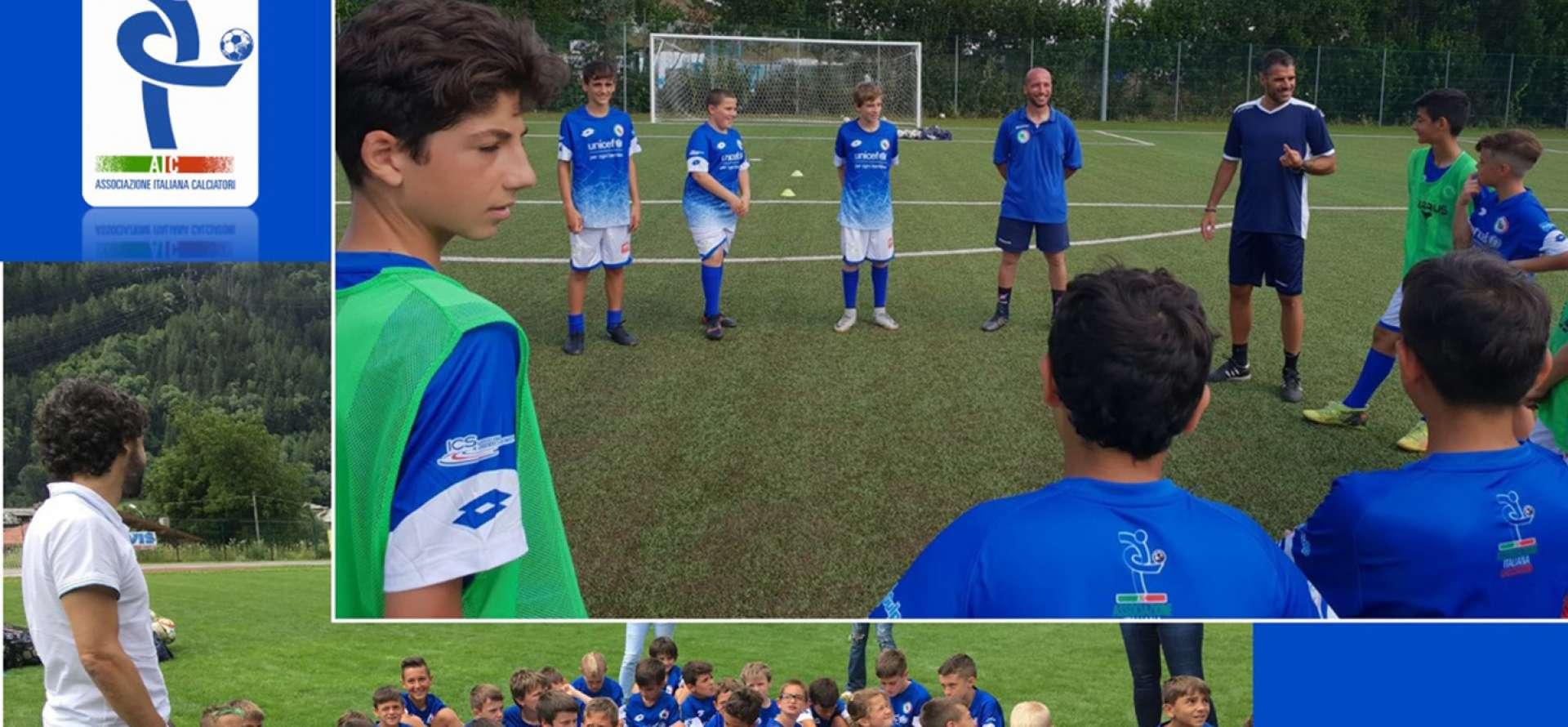 Damiano Tommasi, Simone Perrotta, AIC, Associazione Italiana Calciatori, Dipartimento Junior AIC