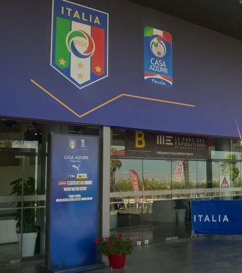 Conte Tavecchio AIC Casa Azzurri Associazione Italiana Calciatori