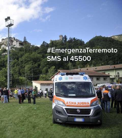 Terremoto Emergenza Lazio Marche