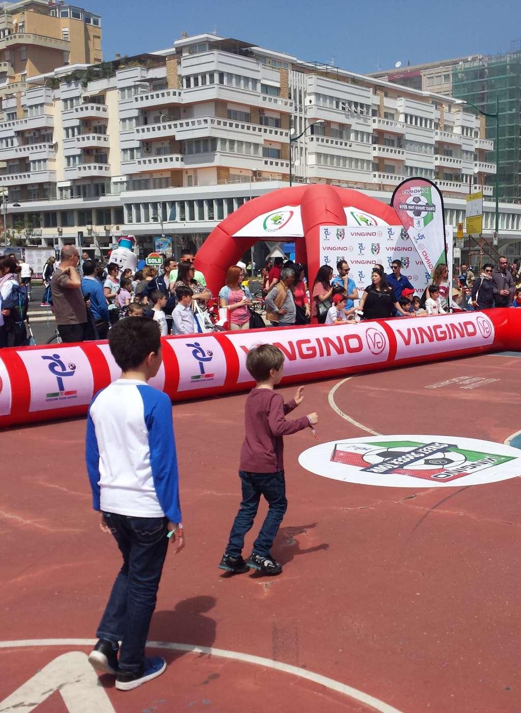Street Soccer Tour AIC Associazione Italiana Calciatori