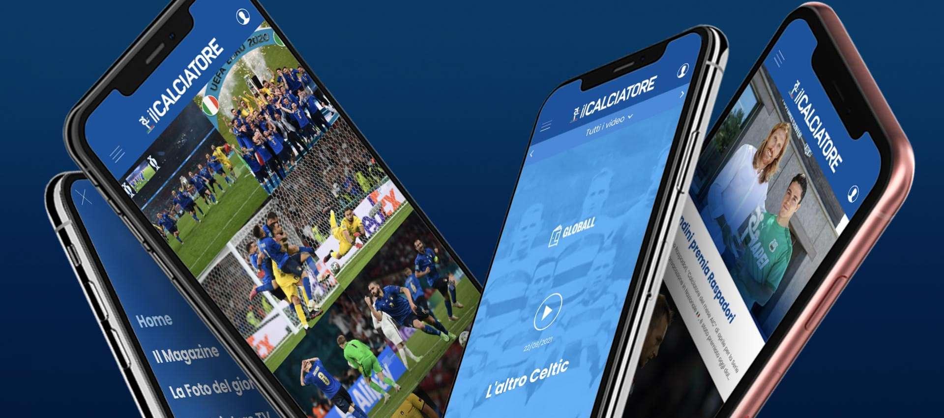 Il Calciatore, la nuova App di AIC