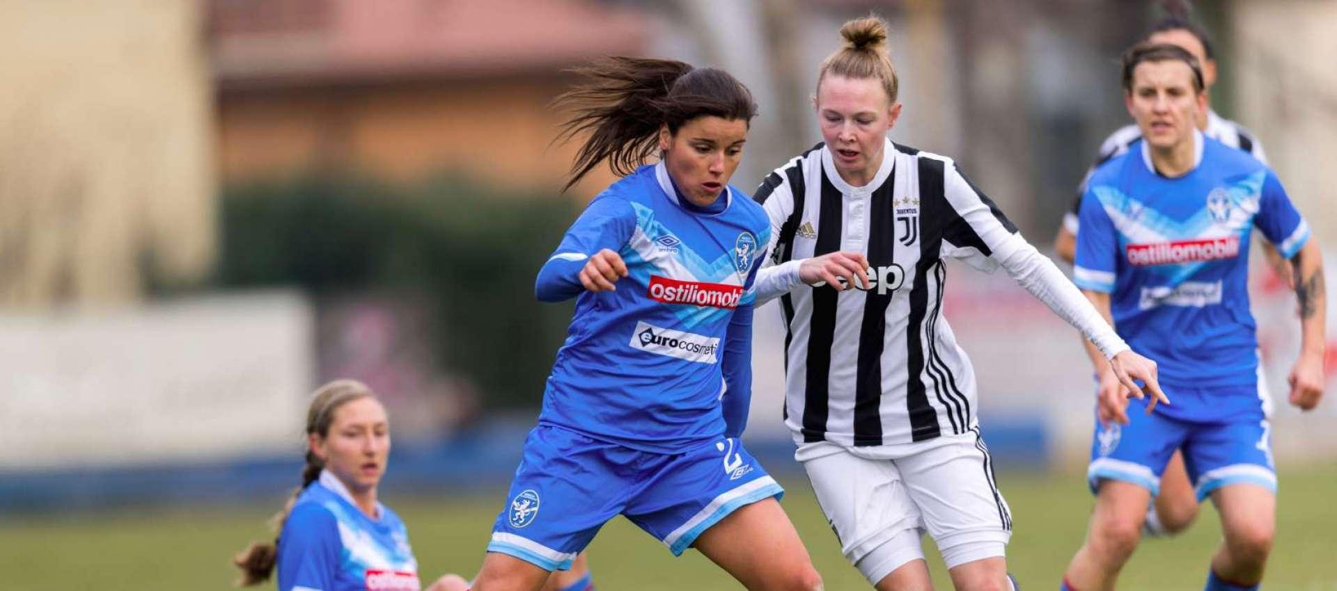 Monica Mendes, Brescia Calcio Femminile, AIC, Associazione Italiana Calciatori