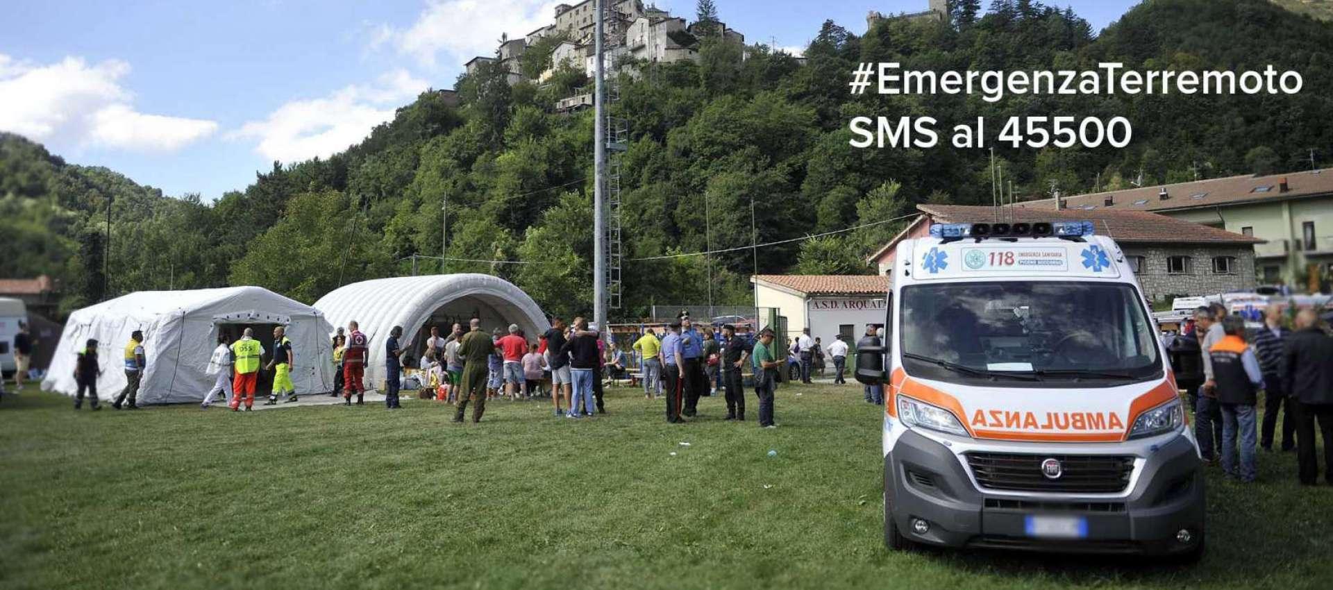Emergenza Terremoto Lazio Marche